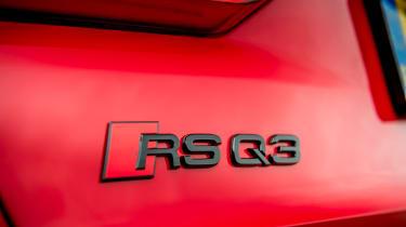 Audi RS Q3 badge