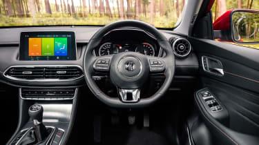 MG HS SUV interior