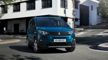 Peugeot e-Rifter front