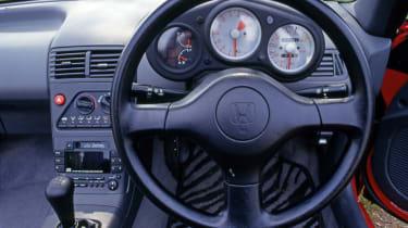 Honda Beat - interior