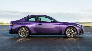 2021 BMW 2 Series Coupe - side profile