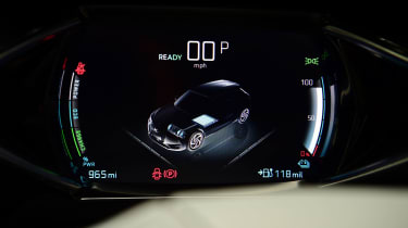 DS 3 Crossback E-Tense SUV digital instruments