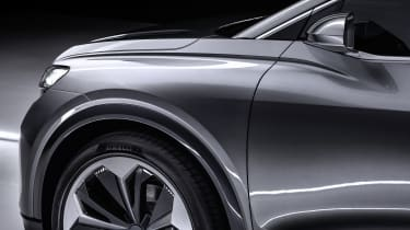 Audi Q4 Sportback e-tron front wing