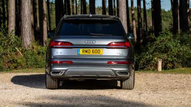 Audi Q7 SUV rear static