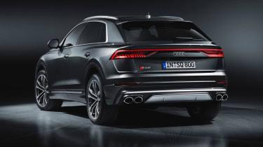 Audi SQ8 SUV rear 3/4 static