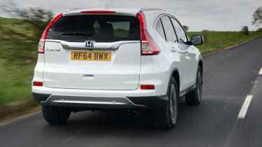 Despite SUV styling, the suspension is tuned for road driving and most versions are front-wheel-drive