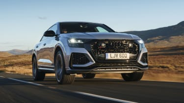 Audi RS Q8 SUV - front 3/4 dynamic low