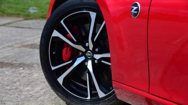 Nissan 370Z coupe alloy wheels