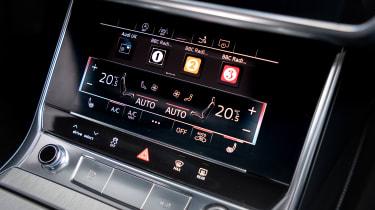 Audi A7 Sportback hatchback climate control