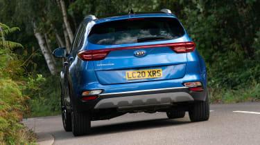 Kia Sportage SUV rear cornering
