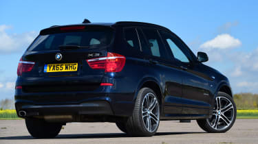 Its design is evolved from the larger BMW X5, to the extent it can be tricky to tell them apart unless they are together