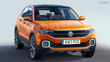 VW's SUV range will grow with the introduction of the Polo-based T-Cross