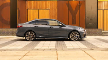 BMW M235i Gran Coupe saloon side