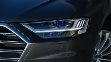Active LED headlamps incorporate automatic high beam