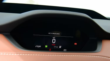 Skoda Enyaq iV SUV speedometer