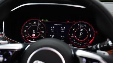 Jaguar XF saloon digital instruments