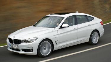 BMW 3 Series Gran Turismo 2013 on road