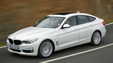BMW 3 Series Gran Turismo 2013 on road