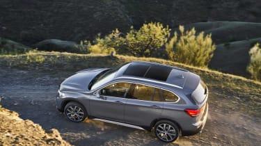 2019 BMW X1 SUV - elevated rear view