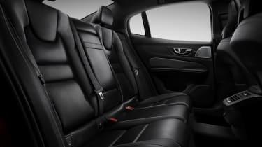Volvo S60 R-Design rear seats