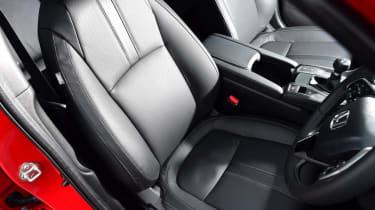 Honda Civic hatchback frotn seats