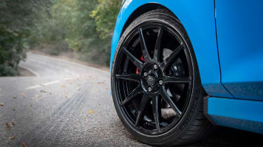 Ford Fiesta ST hatchback lightweight alloy wheels