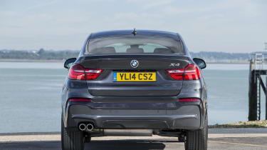 Every BMW X4 comes with xDrive four-wheel drive as standard, for extra grip in slippery conditions
