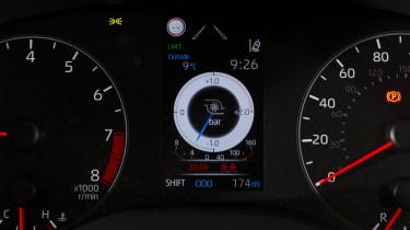 Toyota GR Yaris hatchback instruments