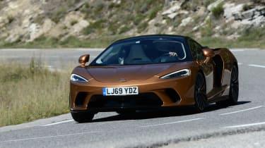 McLaren GT cornering