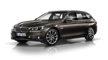 BMW 5 Series 2013 Touring front quarter