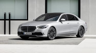 2020 Mercedes S-Class - front 3/4 static