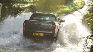 Ford Ranger Thunder - rear view river crossing