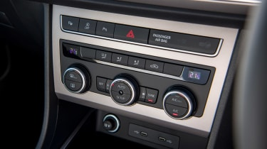 SEAT Ateca SUV climate control