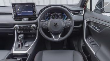 Suzuki Across SUV interior