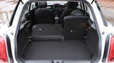 MINI 5-door hatchback boot