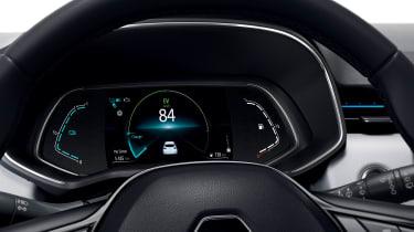 Renault Clio E-Tech Hybrid digital instruments