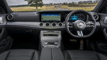 Mercedes E-Class saloon - interior