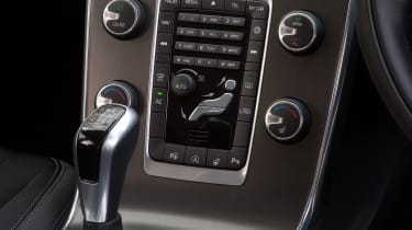 Most comfort and infotainment services can be controlled form the centre console