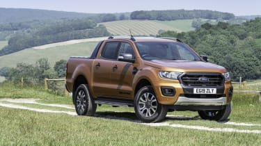 2019 Ford Ranger Wildtrak - front 3/4 static view