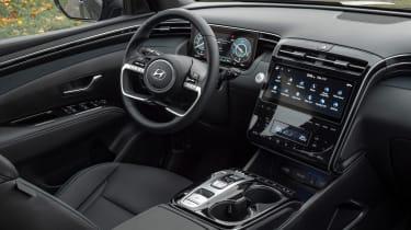 Hyundai Tucson SUV interior
