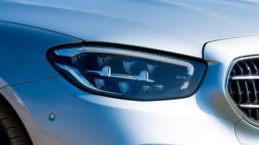 Mercedes E-Class saloon headlights