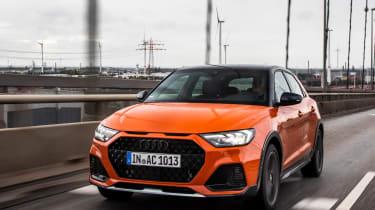 Audi A1 Citycarver hatchback front tracking