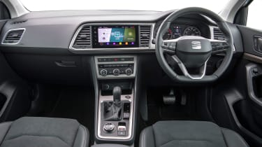 SEAT Ateca SUV interior