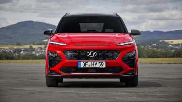 2020 Hyundai Kona N Line - Front view static