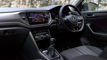 Volkswagen T-Roc SUV interior
