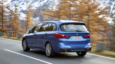 BMW 2 Series Gran Tourer driving - rear view