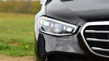 Mercedes S-Class saloon headlights