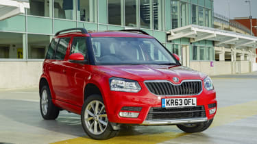 The Skoda Yeti is a boxy and sensible family SUV with a rugged, no-nonsense image