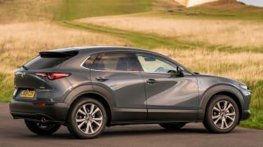 Mazda CX-30 SUV side action