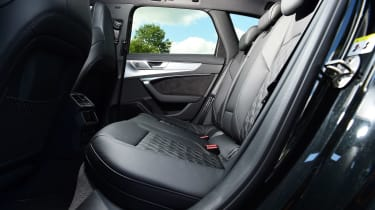 Audi S6 Avant estate rear seats